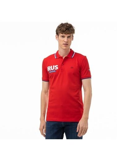 Lacoste Erkek Slim Fit Tişört PH0070.70K Kırmızı